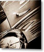 1939 Bugatti T57c Galibier -0298s Metal Print
