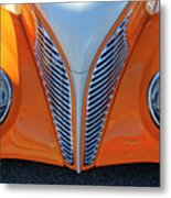 1939 Ford Hot Rod Cvt Grille Metal Print