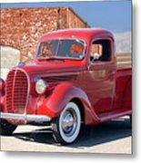 1939 Ford 'stake Bed' Pickup Truck I Metal Print
