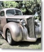 1939 Packard Coupe Metal Print by Richard Rizzo