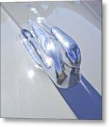 1940 Cadillac Hood Ornament Metal Print