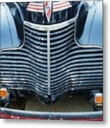 1940 Chevy Roadster Grill Metal Print