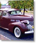 1940 Classic Cadillac  Metal Print