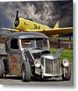 1940 Ford Rat Rod Pickup IIi Metal Print