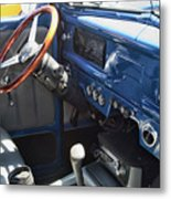 1940 Ford Truck Interior Metal Print