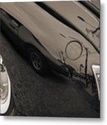 1940 Mercury Convertible Vintage Classic Car Photograph 5218.01 Metal Print