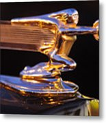 1940 Packard Hood Ornament Metal Print