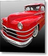 1940s Custom Chrysler New Yorker In Red Metal Print