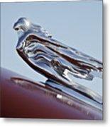 1941 Cadillac Fleetwood 60 Hood Ornament Metal Print