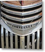1941 Chevy - Chevrolet Pickup Grille Metal Print
