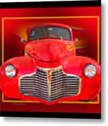 1941 Chevy Custom Metal Print