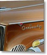 1941 Packard Hood Ornament 2  Metal Print by Jill Reger