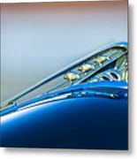 1941 Plymouth Hood Ornament Metal Print