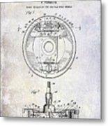 1941 Porsche Brake Mechanism Patent Metal Print