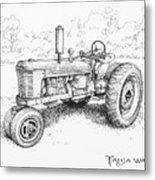 1942 Farmall Metal Print