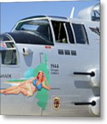 1944 Maid In The Shade  Metal Print