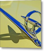 1946 Buick Convertible Hood Ornament 2 Metal Print