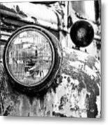 1946 Chevy Work Truck - Headlight Detail Metal Print