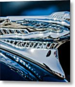 1946 Desoto Hood Ornament Metal Print