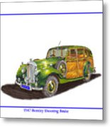 1947 Bentley Shooting Brake Metal Print