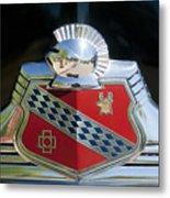 1947 Buick Emblem 2 Metal Print
