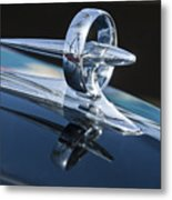 1947 Buick Roadmaster Hood Ornament 2 Metal Print