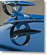 1947 Buick Roadmaster Hood Ornament Metal Print