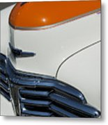 1947 Chevrolet Deluxe Front End Metal Print