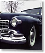 1947 Classic Lincoln Ragtop On Moody Day Metal Print