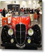 1947 Delahaye 135m Letourner Et Marchand Cabriolet Metal Print