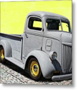 1947 Ford Cab Over Engine Truck Metal Print