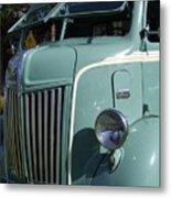 1947 Ford Cab Over Truck Metal Print