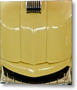1947 Mercury Convertible Hood Ornament Metal Print
