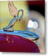 1947 Packard Coupe Hood Ornament Metal Print