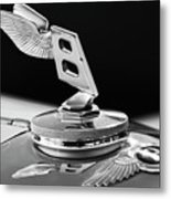 1948 Bentley Hood Ornament 3 Metal Print