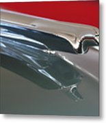 1948 Cadillac Series 62 Hood Ornament Metal Print