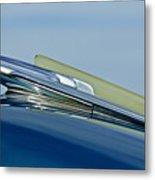1948 Chevrolet Fleetline Hood Ornament Metal Print