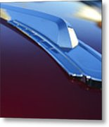 1948 Chevrolet Pickup Hood Ornament Metal Print