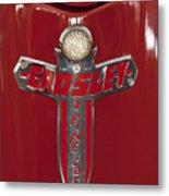 1948 Crosley Convertible Emblem Metal Print