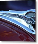 1948 Dodge Ram Hood Ornament Metal Print