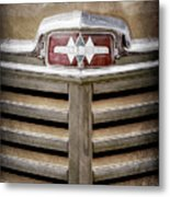 1948 International Hood Emblem -0227ac Metal Print