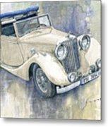 1948 Jaguar Mark Iv Dhc Metal Print
