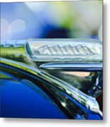 1948 Plymouth Hood Ornament Metal Print