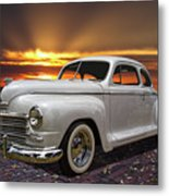1948 Plymouth Two Door Coupe Metal Print