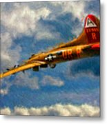 1949 Boeing B-17b Flying Fortress Metal Print