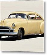 1949 Chevrolet Custom Fleetline Sedan II Metal Print