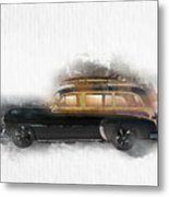 1949 Chevy Woody Metal Print