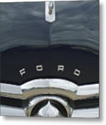1949 Ford Hood Ornament 4 Metal Print