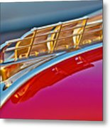 1949 Plymouth Hood Ornament Metal Print
