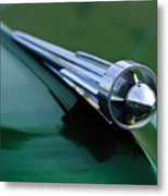 1949 Studebaker Champion Hood Ornament 2 Metal Print